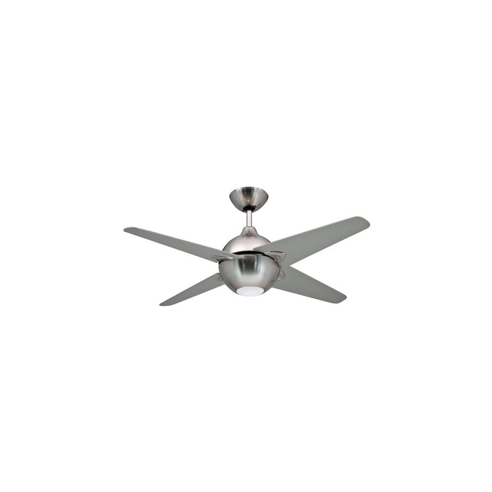 Yosemite Home Decor SPECTRUM42BN Ceiling Fan Series 42 Inch Indoor Ceiling Fan, Brushed Nickel with Light Kit