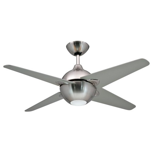 Yosemite Home Decor Spectrum42Bn 42-Inch Ceiling Fan With Light Kit, Brushed Nickel back-78664