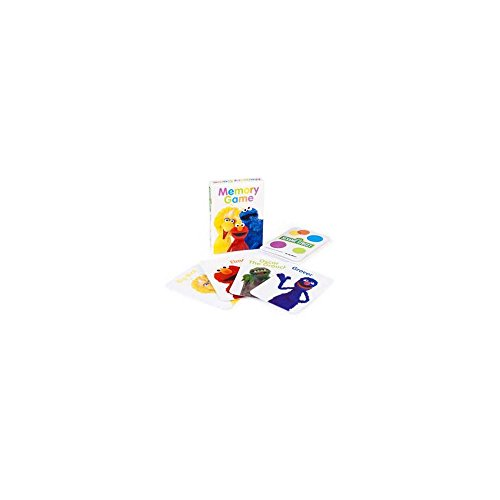 Sesame Street Memory Game / Favors (4ct)