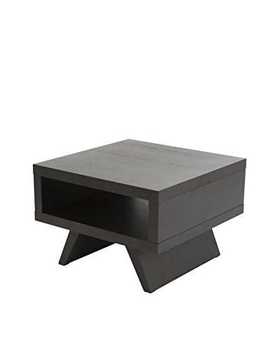 Eurostyle Monique Side Table, Wenge