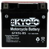 KYOTO - BATTERIE - Ytx5l-bs - L 114mm W 71mm H 106mm - Sans Entretien - Avec Acide