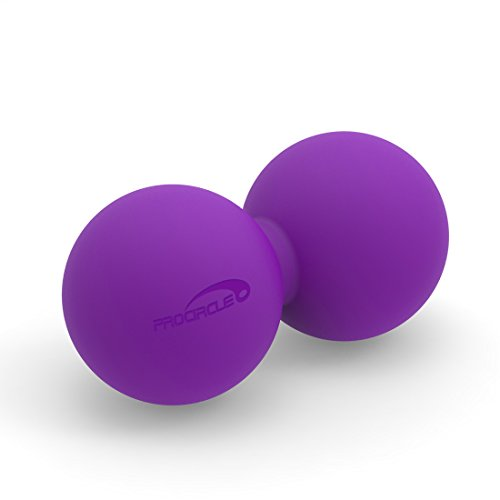 PROCIRCLE Double Massage Peanut Ball - Purple - Mobility Ball for Physical Therapy - High Density Massage Tool for Deep Tissue, Muscle Relax (Myofascial Release Tools compare prices)