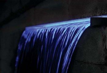 "Easypro Underwater Led Light Strip 23"" Inch Cool Blue Waterfall Spillway Light"