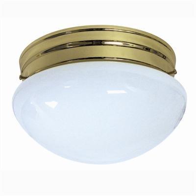 Hall8/Pb/Gu24/2-18/Es Brass 36W Mushrm Es Fix Sun [ 12 Pk ]