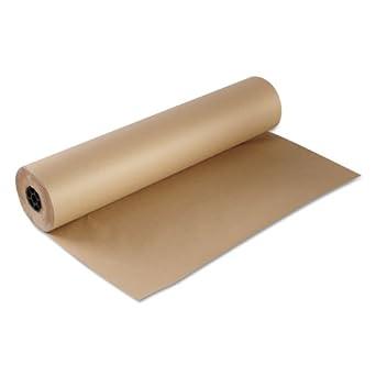 "Boardwalk KFT36301000 Kraft Paper, 36"" x 1000ft, Brown"