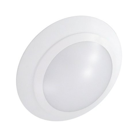Nicor Lighting Dls-10-120V-4K-Wh 4000K 6-Inch Led Disc Light White Surface Mount Led Retrofit Kit