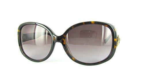 Anna Sui Occhiali da sole as953Oversize da donna occhiali da sole Havana Taglia unica