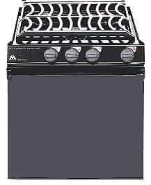 Atwood Wedgewood 52231 21 Inch Vision Range Oven with Piezo Ignitor, Notched (Rv Stove With Oven compare prices)