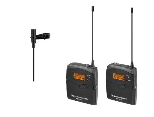 Sennheiser EW 112-p G3 Portable System with Bodypack Transmitter and Diversity Camera Receiver/ME 2 Omni Clip-on Mic
