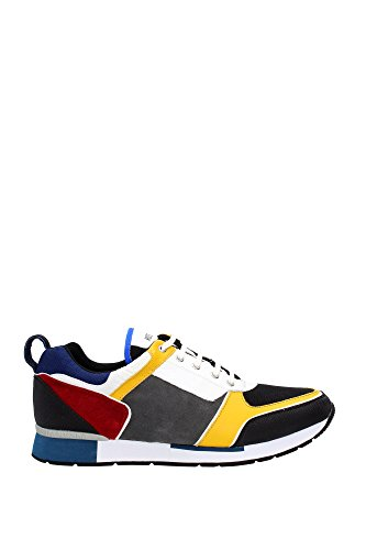 Sneakers Love Moschino Uomo Camoscio Multicolore 001200992601910375022 Multicolor 44EU