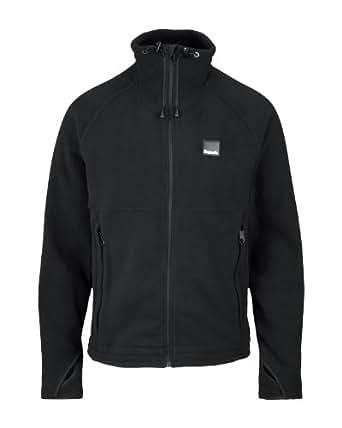 Bench Herren Sweatshirt Fleecejacke Hill Side schwarz (black) Large