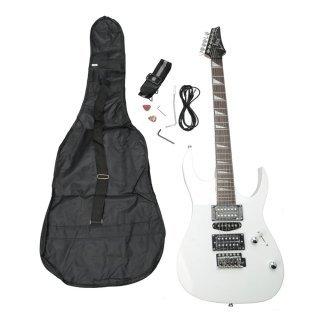 Moppi IRIN Profi E-Gitarren-Weiß mit Bag-Bügel auswählen Tremolo Bar Kabel günstig online kaufen