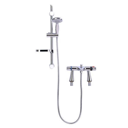 Thermostatic Bathroom Bath Shower Kit by Grand Taps (Ultra CD324 and Premier JTY004)