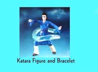 McDonalds Happy Meal The Last Airbender Katara Figure and Bracelet Toy #2 - 1