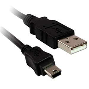 Essex Electronics 1m USB 2.0 A - 5 Pin Mini B Camera/MP3 Cable
