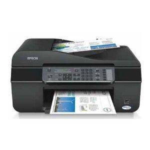 Epson Stylus Office BX305FW Plus Wifi-Multifunktionsgerät (4 in 1, Drucker, Scanner, Kopierer, Fax) + 10 Youprint Tinten + USB Kabel (Originalpatronen ausdrücklich nicht im Lieferumfang)