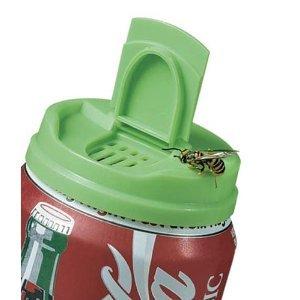 Jokari - Lot de 2 couvercles pour boissons en cannette - Garde les insectes hors de vos boissons - Coloris/modèles variables