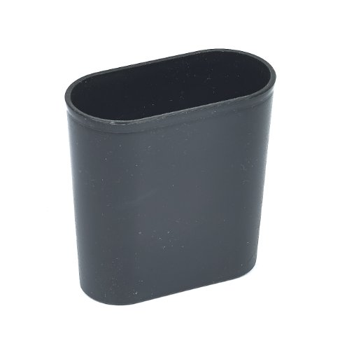 Plastic Backgammon Dice Cup - Black