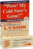 Morgans Morgans Lip Lysine Balm Medicated, 0.17 oz by Jubujub