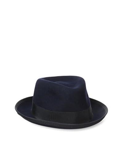 Hickey Freeman Men's Wool Blocked Fedora Hat