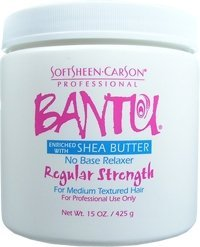 Soft Sheen Carson Bantu With Shea Butter No Base Crme Relaxer Regular Strength 15oz/425g