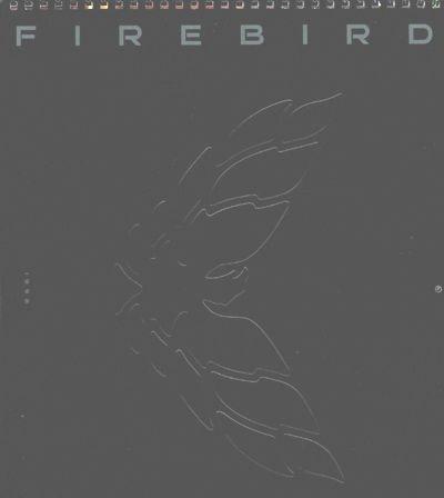 1999 Pontiac Firebird TransAm Ram Air Sales Brochure Calendar (Pontiac Firebird Calendar compare prices)