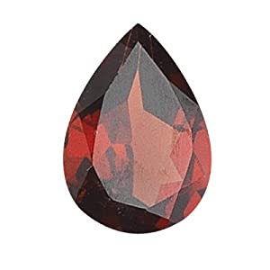 7.38 Cts of 15x10 mm Pear Loose Garnet (1 pcs ) Gemstone