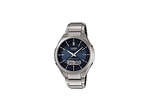 Casio LCW-M500TD-2AER - Reloj de pulsera hombre, Titanio, color Plateado