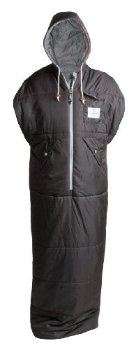 Poler Nap Sack Wearable Sleeping Bag: One Season Synthetic Green, M