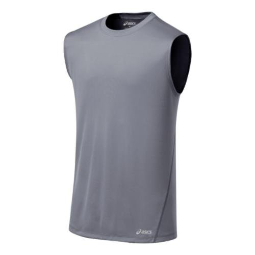 ASICS Men's Core Tank, Frost, Small