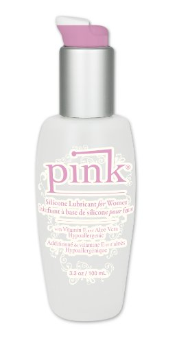 Read About Pink Silicone Lubricant For Women, 3.3 Ounces