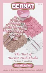 Spinrite Books Bernat Best Of Dish Cloths Handicrafter