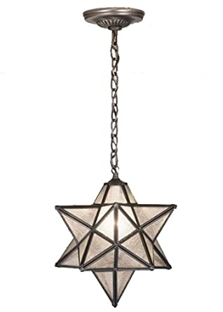 12 inch w moravian star pendant ceiling fixture star ceiling light. Black Bedroom Furniture Sets. Home Design Ideas