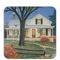 Home for Thanksgiving Set of 4 Coasters John Sloane Legacy