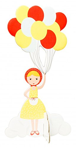 POPOUT GIRL WITH BALLOONS