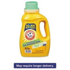 He Compatible Liquid Detergent, Unscented, 50oz Bottle, 8/carton