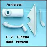 andersen hardware pack classic ez casement window u2013 white u2013