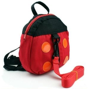 [Buy the world] lost prevention thong leaded chemical harness backpack harness with Luc Ladybug kids backpack