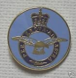 ROUND RAF FLAG MILITARY ENAMEL LAPEL BADGES