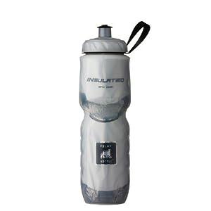 Polar Bottle Insulated Water Bottle (White) (24 oz) - 100% BPA-Free Water Bottle - Perfect Cycling or Sports Water Bottle - Dishwasher & Freezer Safe