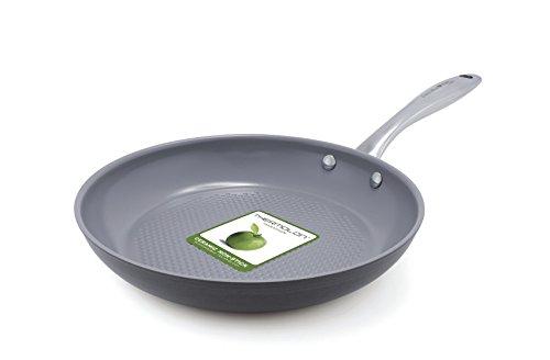 GreenPan Lima 3D I Love Fish & Veggies 10 Inch Hard Anodized Non-Stick Dishwasher Safe Ceramic Fry Pan