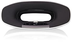 iLive  Play and Charge Speaker Dock for iPad/iPhone/iPod - Black