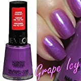 Revlon Scented Nail Polish - Grape Icy