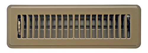 Accord ABFRBR210 Floor Register with Louvered Design, 2-Inch x 10-Inch(Duct Opening Measurements), Brown (2 Floor Register compare prices)