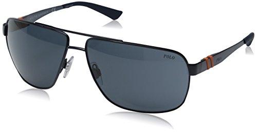 Polo Ralph Lauren PH3088, Occhiali da Sole Unisex-Adulto, Blau (Matte Blue 911987), Taglia Unica