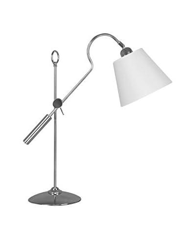 PREMIER Lámpara De Mesa Plateado
