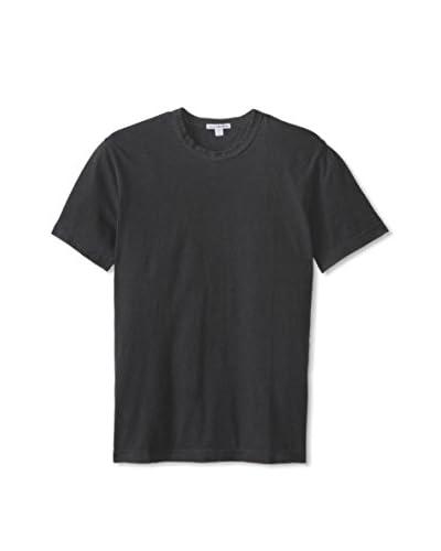 James Perse Men's Short Sleeve Crew Neck Shirt