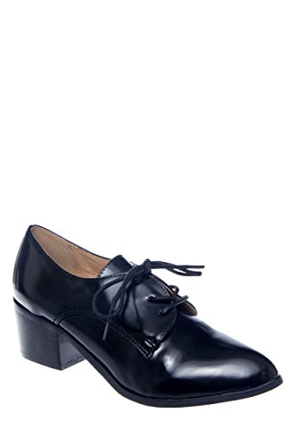 Kibel Mid-Heel Oxford Shoe
