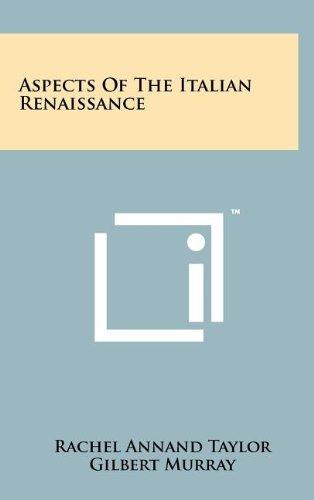 Aspects of the Italian Renaissance