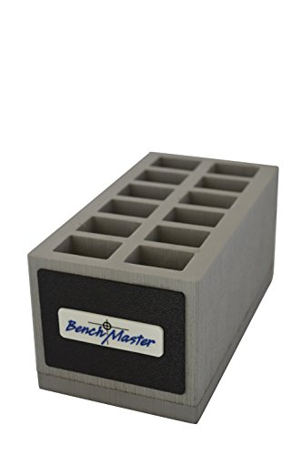 Benchmaster - Weapon Rack - Double Stack 9mm Magazine Rack - 12 Unit - Gun Safe Storage Accessories - Pistol Mag Storage (Stack And Rack compare prices)